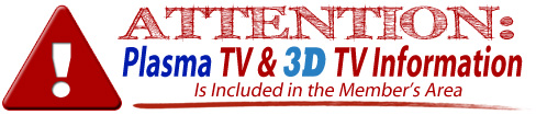 included 3d plasma tv repair manuals